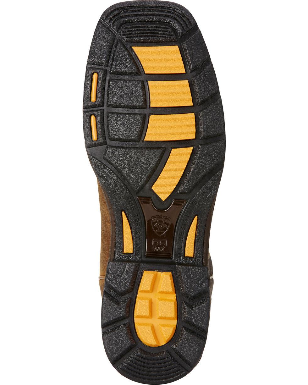 Ariat Workhog H2O 400g Cowboy Work Boots - Square Toe  , Brown, hi-res