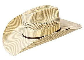 Bailey Cassius 7X Straw Cowboy Hat, Natural, hi-res