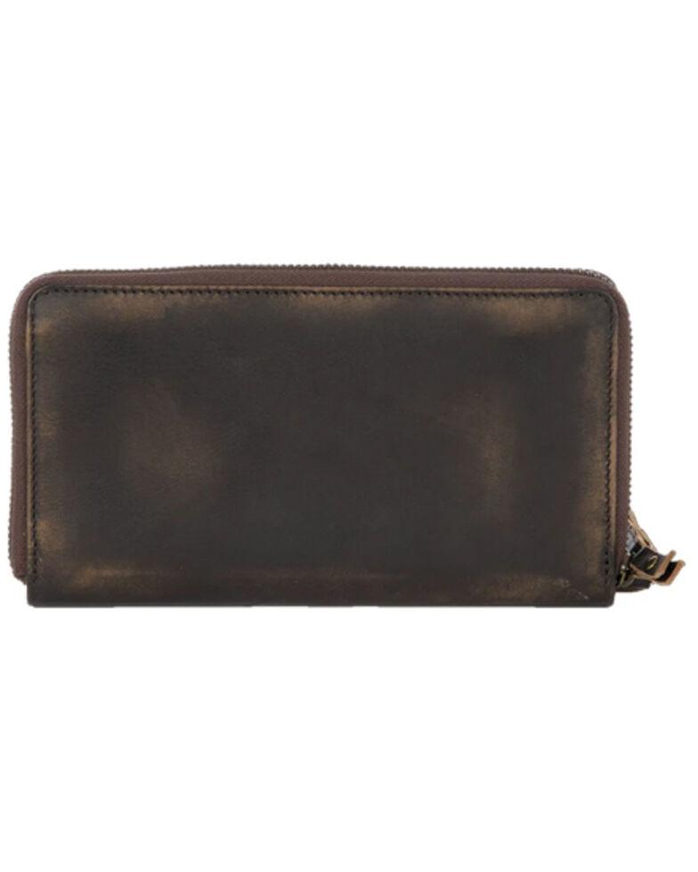 Carroll Co Women's Pony Express Wallet, Brown, hi-res