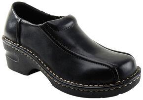 Eastland Women's Black Tracie Slip-Ons , Black, hi-res