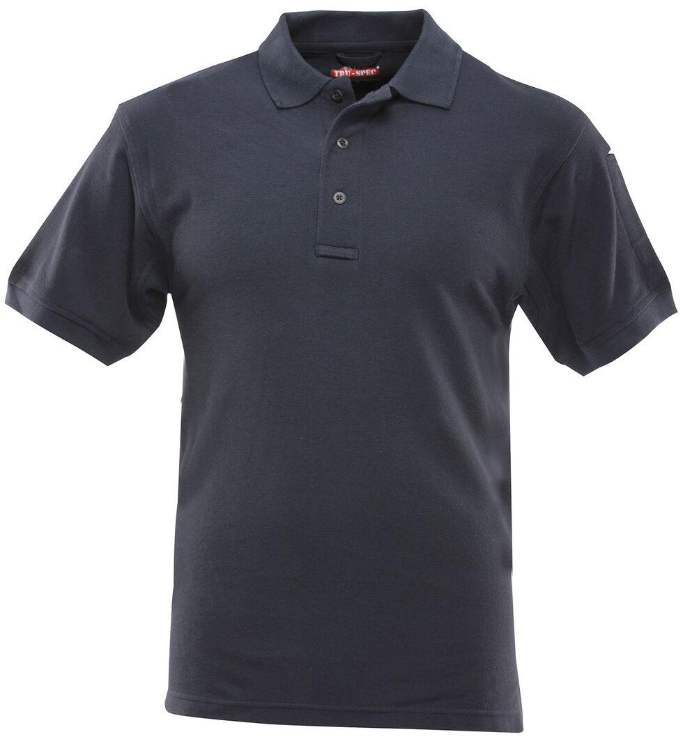 Tru-Spec Men's 24-7 Series Short Sleeve Performance Polo Shirt - Extra Large (2XL - 5XL), Navy, hi-res