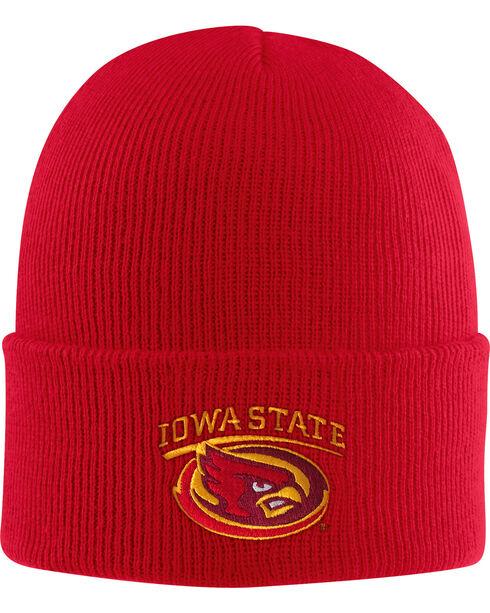 Carhartt Men's Iowa State Watch Beanie, Red, hi-res