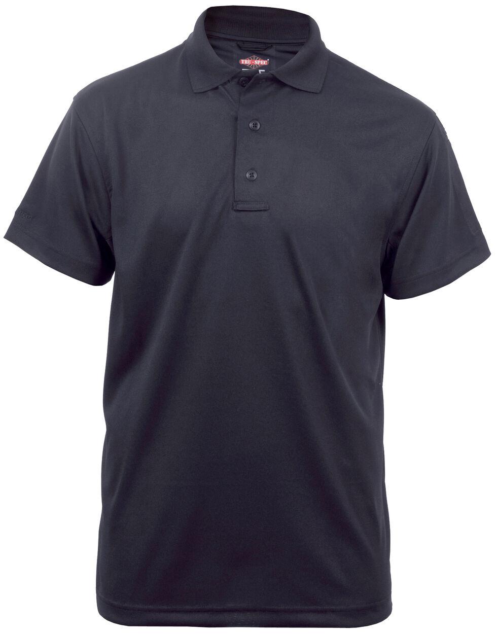 Tru-Spec Men's 24-7 Series Performance Polo Shirt, Black, hi-res