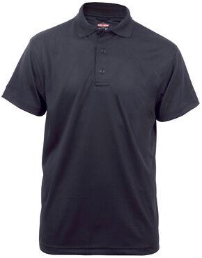 Tru-Spec Men's 24-7 Series Short Sleeve Performance Polo Shirt - Extra Large (2XL - 5XL), Black, hi-res