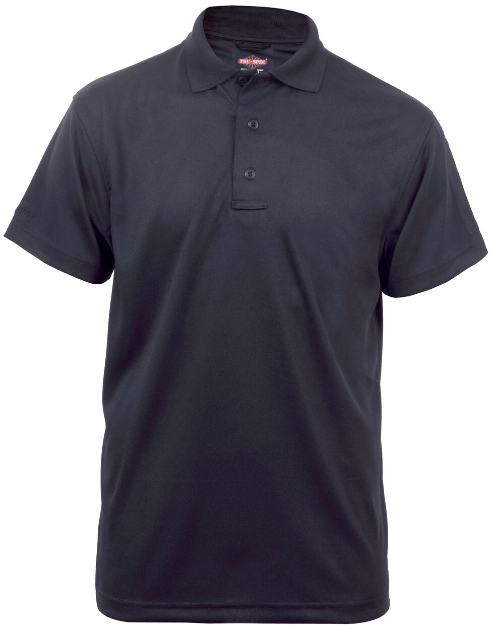 Tru-Spec Men's 24-7 Series Short Sleeve Performance Polo Shirt - Extra Large (2XL - 5XL), Black, hi-res