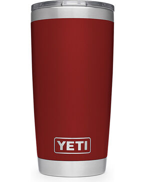 Yeti Red Rambler 20oz Sliding Lid Tumbler , , hi-res