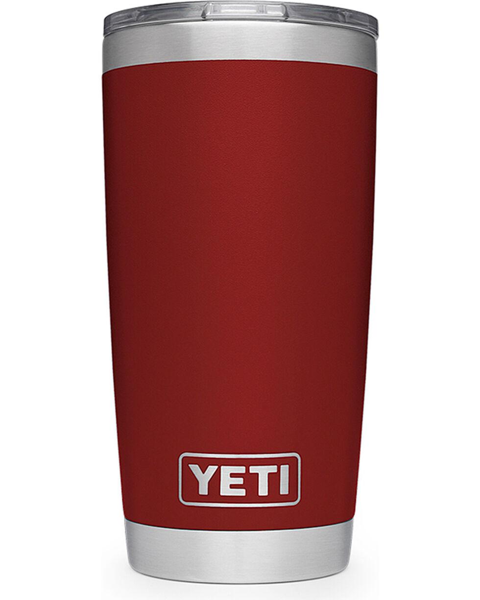 Yeti Red Rambler 20oz Sliding Lid Tumbler , , hi-res