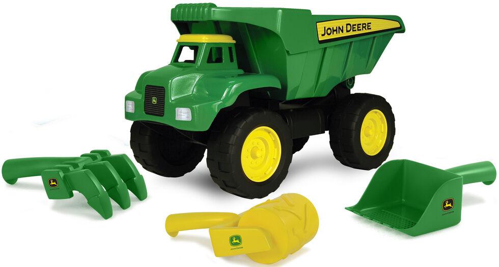 John Deere Kids' Big Scoop Dump Truck, Green, hi-res