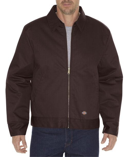 Dickies ® Insulated Eisenhower Jacket, Dark Brown, hi-res