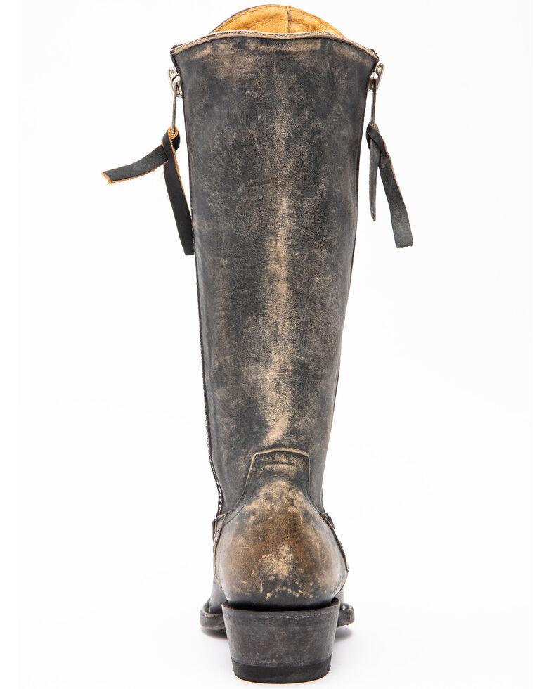 Idyllwind Women's Latigo Performance Western Boots - Snip Toe, Black/tan, hi-res