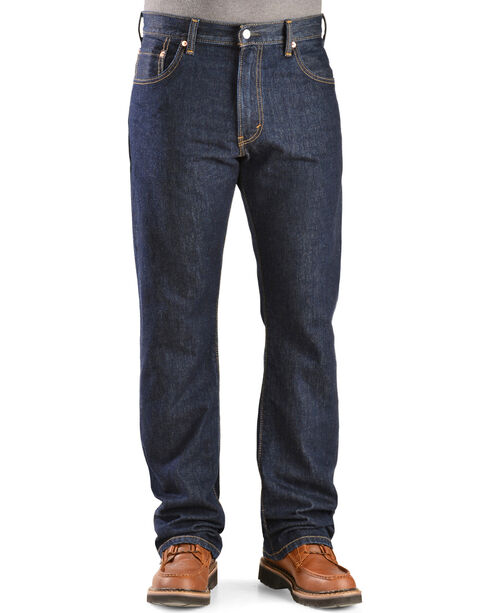 Levi's 517 Jeans - Slim Fit Boot Cut, Rinsed, hi-res