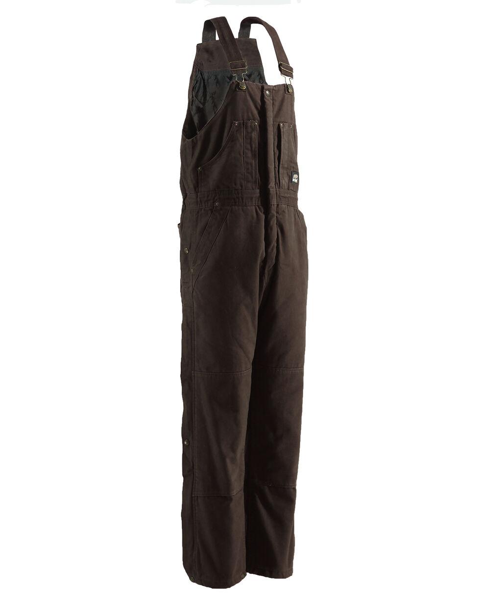 Berne Bark Original Washed Insulated Bib Overalls - Tall, Bark, hi-res