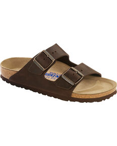 Birkenstock Women's Arizona Birko-Flor Sandals, Brown, hi-res