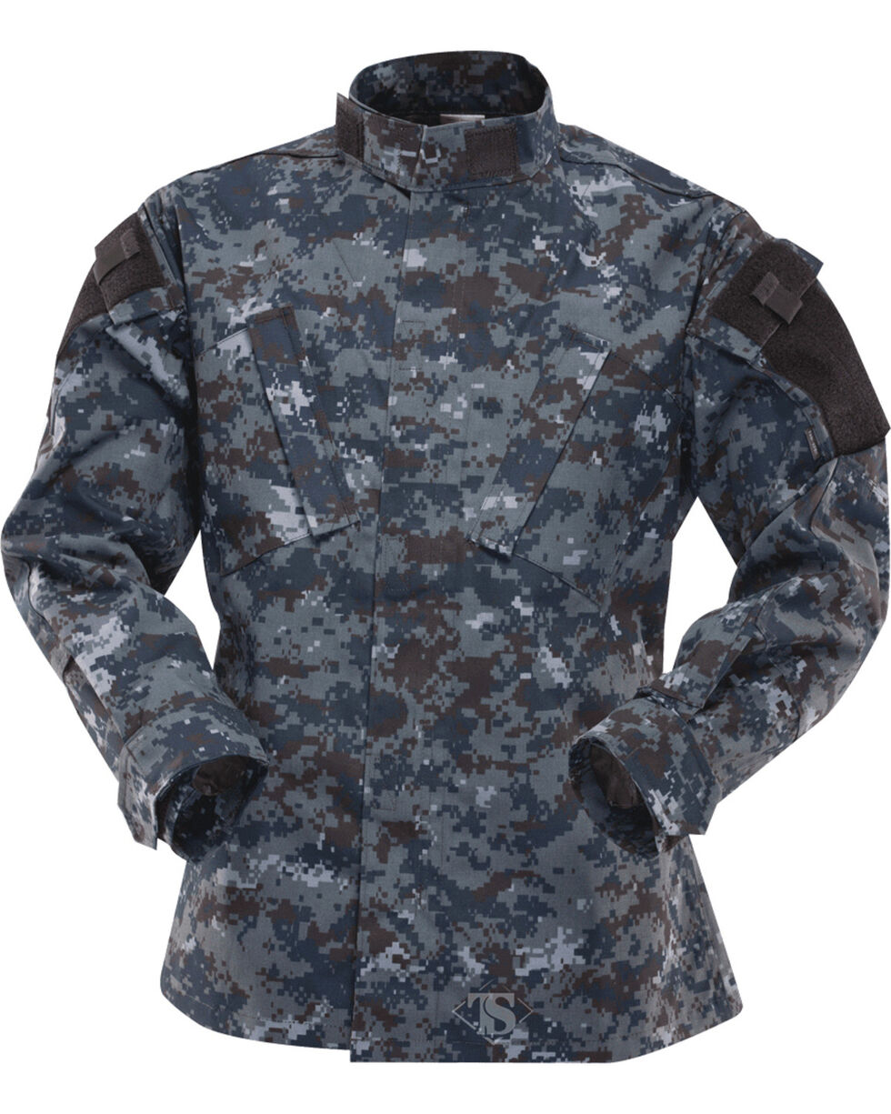 Tru-Spec Tactical Response Uniform Cotton RipStop Shirt, Midnight, hi-res