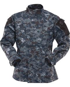Tru-Spec Tactical Response Uniform Cotton RipStop Shirt - Big and Tall, Midnight, hi-res
