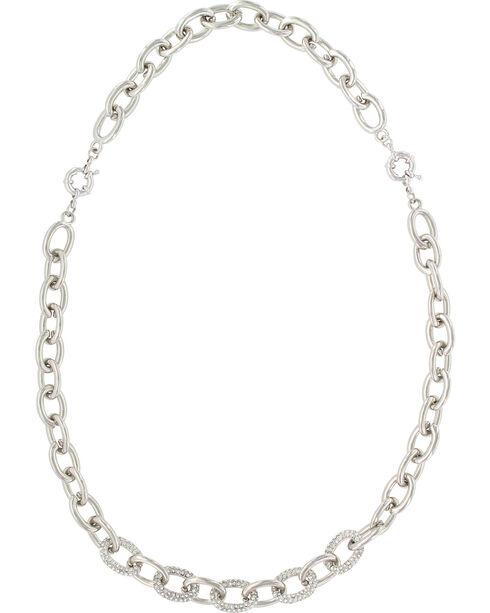 Montanan Silversmiths Women's Silver Convertible Link Necklace , Silver, hi-res