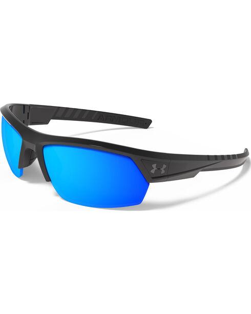 Under Armour Men's UA Igniter 2.0 Storm Polarized Sunglasses , Black, hi-res