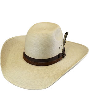 Larry Mahan 30X Hodge Palm Hat , Natural, hi-res