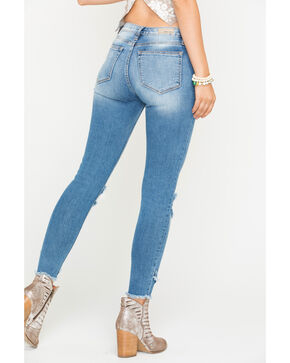 Miss Me Women's Let It Rip Ankle Skinny Jeans , Indigo, hi-res