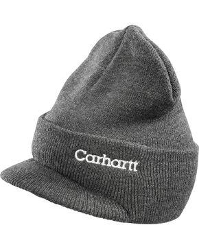 Carhartt Visor Cap, Charcoal Grey, hi-res