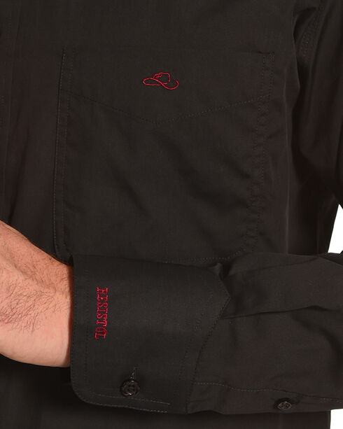 Resistol Men's Black Griffin Logo Western Shirt , Black, hi-res