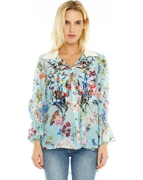 Aratta Women's Shalley's Shirt, Light Blue, hi-res