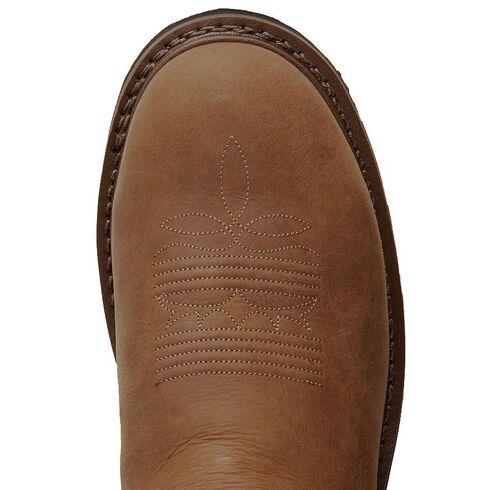 Tony Lama 3R Waterproof Work Boots - Steel Toe, Tan, hi-res