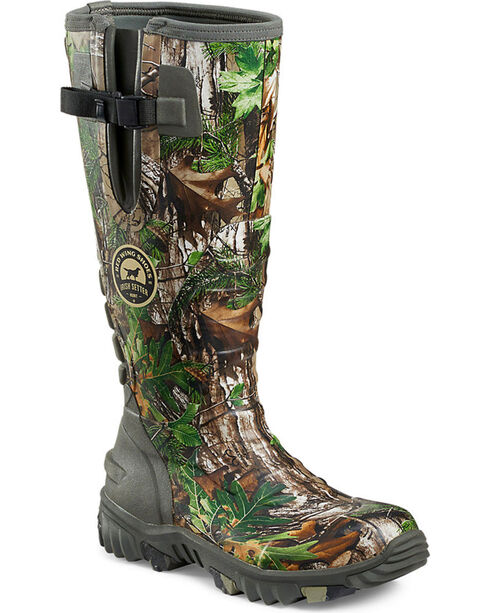 Irish Setter by Red Wing Shoes Men's Rutmaster 2.0 Realtree Xtra Rubber Boots , Camouflage, hi-res