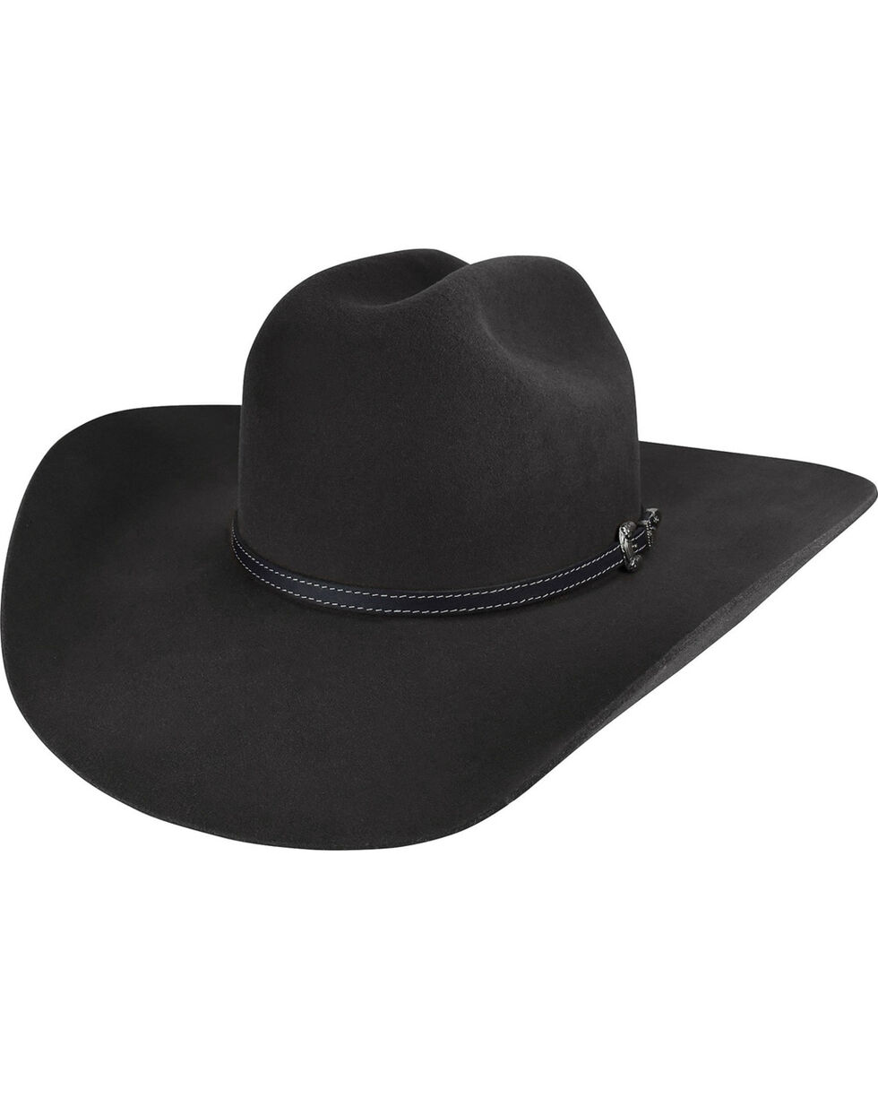 Bailey Men's Black Traveller 2X Wool Hat , Black, hi-res