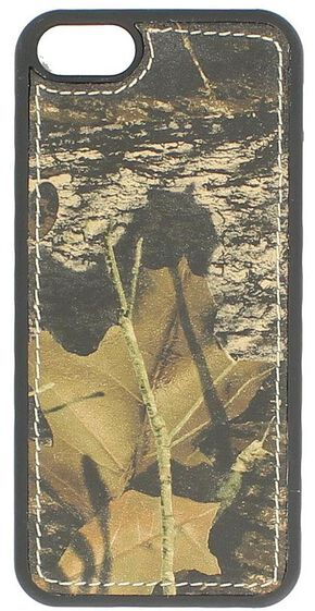 Nocona Mossy Oak Leather iPhone 5 Phone Case, Mossy Oak, hi-res