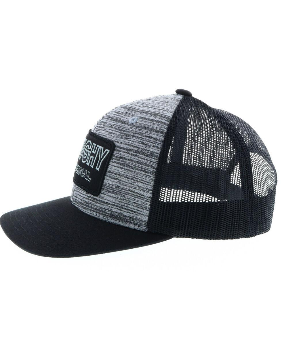 HOOey Men's Grey Roughy Patch Trucker Cap , Black, hi-res
