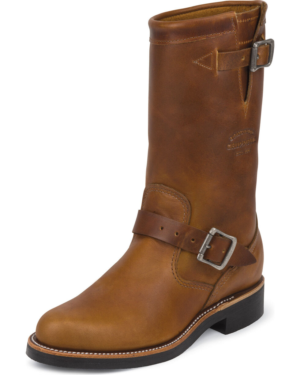 """Chippewa Women's Renegade 11"""" Engineer Boots - Round Toe, , hi-res"""