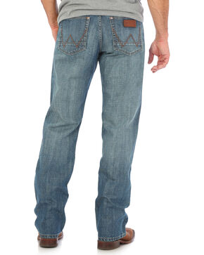 Wrangler Men's Blue Retro Relaxed Fit Jeans - Straight Leg , Indigo, hi-res