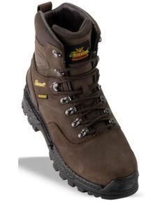 Thorogood Men's Infinity FD Waterproof Work Boots - Soft Toe, Brown, hi-res