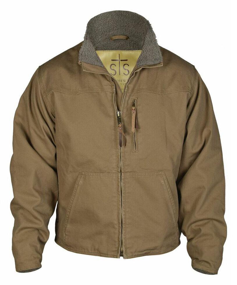STS Ranchwear Men's Bridger Jacket - 4XL, Mushroom, hi-res