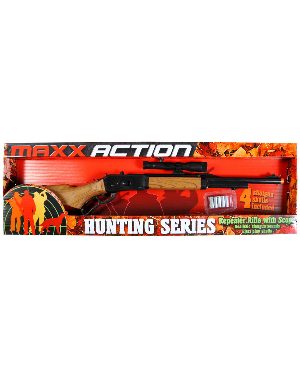 Maxx Action Hunting Series Repeater Hunting Rifle, Brown, hi-res