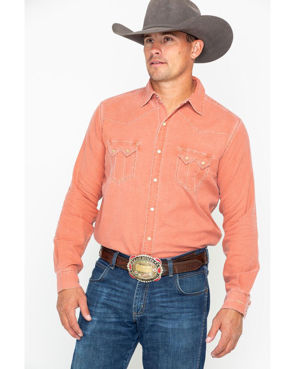 Ryan Michael Men's Clay Split Rail Seam Shirt , Grey, hi-res