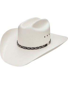Resistol Men's 10X Alvarado Stud Cowboy Hat, Natural, hi-res