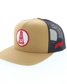 99e6b9dfb89 HOOey Men s Rose Oil Rig Trucker Cap