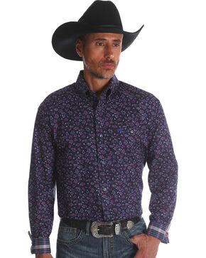 Wrangler 20X Men's Plum Advanced Comfort Competition Shirt , Purple, hi-res