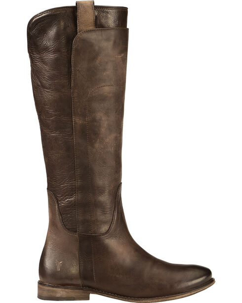 Frye Women's Slate Paige Tall Riding Boot - Round Toe , Slate, hi-res