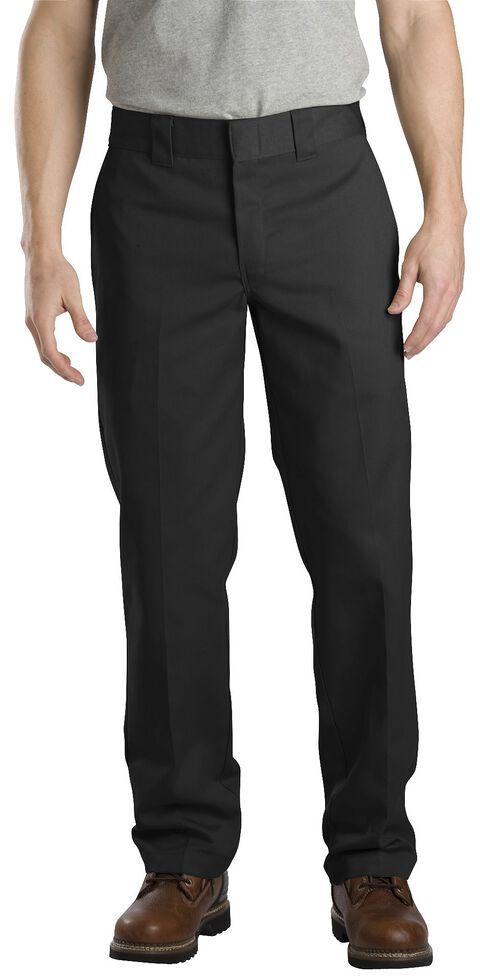 Dickies Slim Straight Work Pants, Black, hi-res