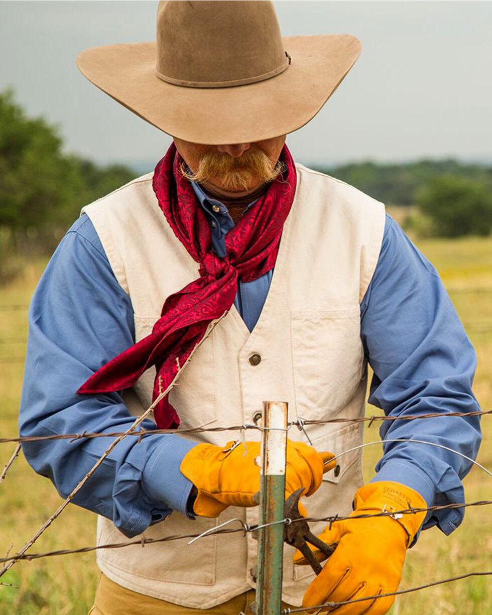 Schaefer Outfitter Men's Natural Vintage Mesquite Vest - 2XL, Natural, hi-res