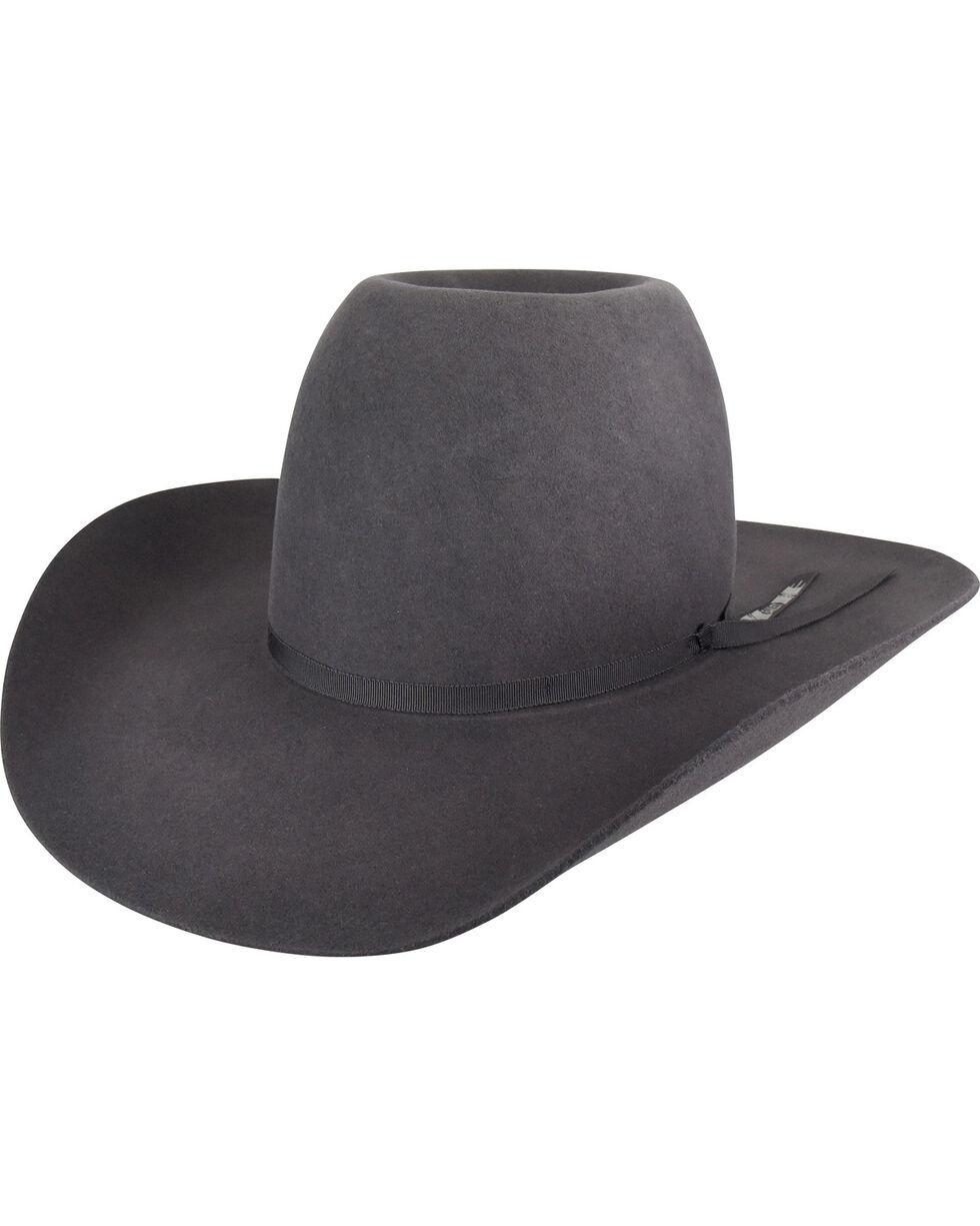 Bailey Men's Charcoal Western Hastings Cowboy Hat , , hi-res