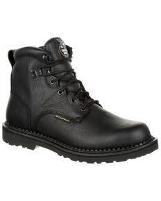 06f37fcb8be2 Georgia Boot Mens Giant Waterproof Work Boots - Steel Toe