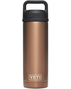 Yeti Rambler 18 oz Bottle with Chug Cap, Rust Copper, hi-res