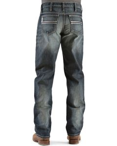 Cinch White Label Relaxed Fit Mid-Rise Jeans - Tall, Dark Stone, hi-res