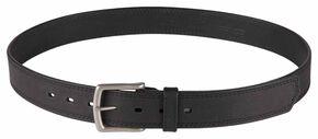 5.11 Tactical Arc Leather Belt (2XL-4XL), Black, hi-res