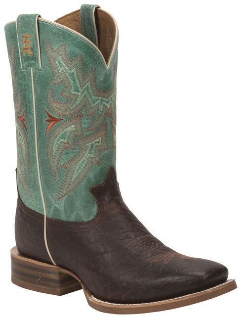 Tony Lama Cognac Jasper 3R Stockman Boots - Round Toe, , hi-res
