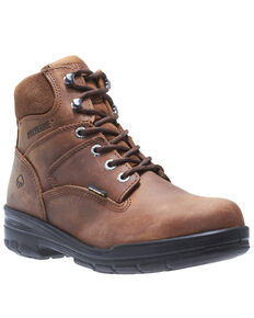 Wolverine Men's Durashocks Work Boots - Steel Toe, Brown, hi-res